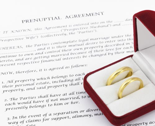 Chicago prenuptial agreement lawyer postnuptial attorney